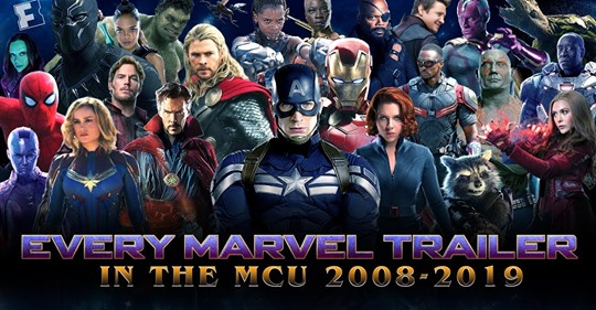 ALL Marvel Cinematic Universe Trailers