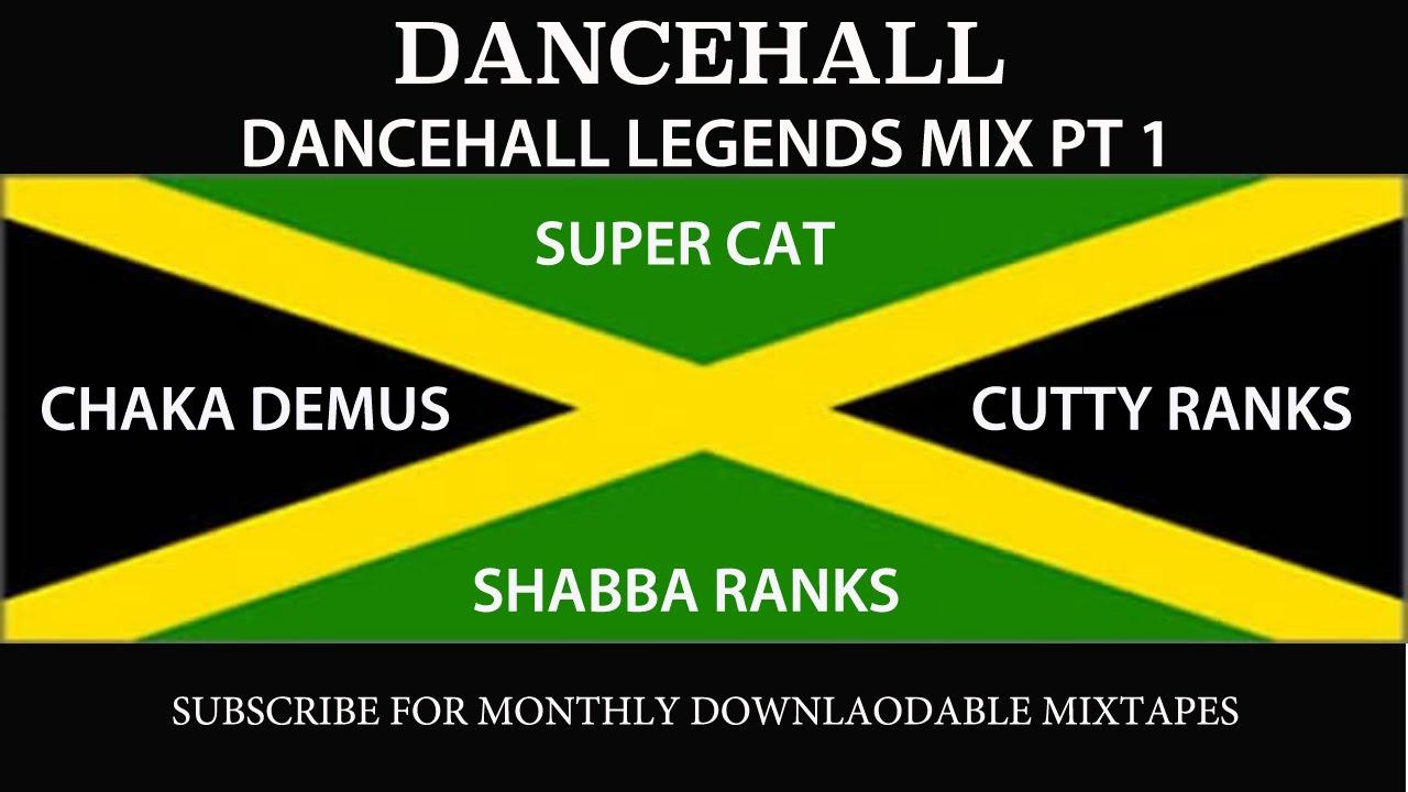 DANCEHALL LEGENDS MIX PT 1